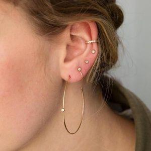 Jewelry - 18K Gold-Plated Vintage Bohemian Earrings
